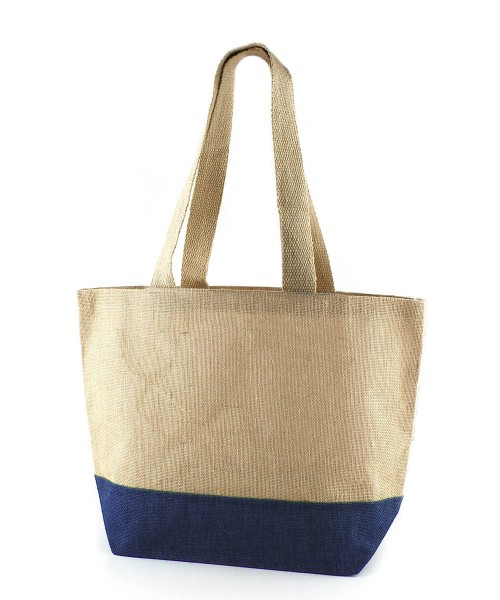 DUBU BLUE Jute Bag
