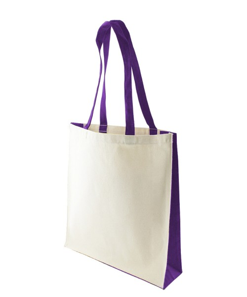 KUKU PURPLE Cotton Bag