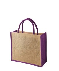 TEMBO CT PURPLE Jute Bag