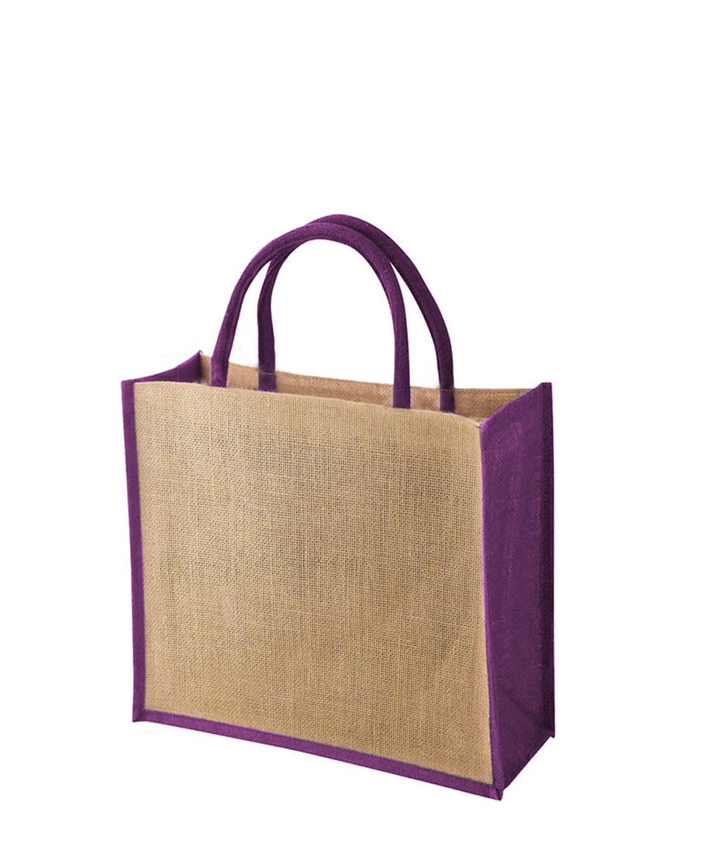 TEMBO CT PURPLE Jute Bag