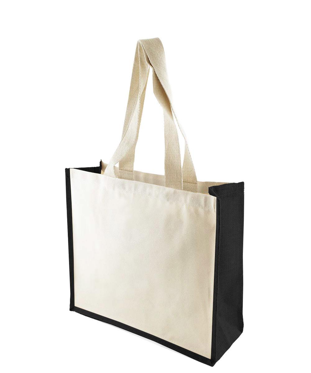 KONGONI BLACK Jute Bag